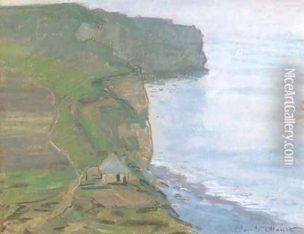 Etretat, le cap d'Antifer Oil Painting - Claude Oscar Monet