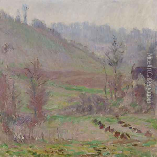 Val de Falaise Oil Painting - Claude Oscar Monet