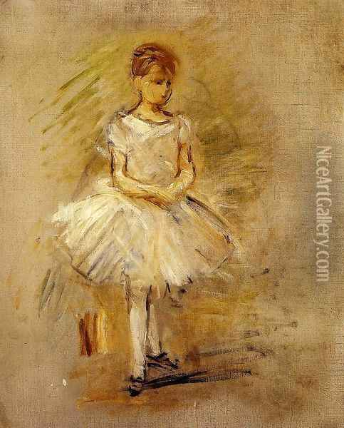 Little Dancer Oil Painting - Berthe Morisot