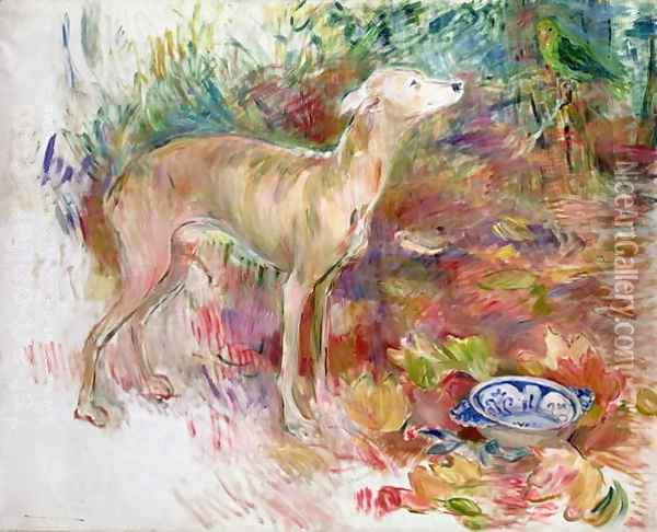 Laerte the Greyhound 1894 Oil Painting - Berthe Morisot