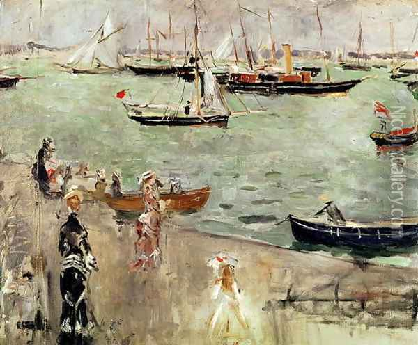 The Isle of Wight, 1875 Oil Painting - Berthe Morisot
