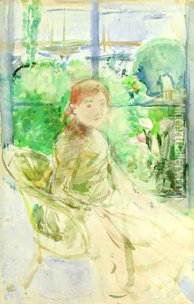 Interior of a Cottage 1886 Oil Painting - Berthe Morisot