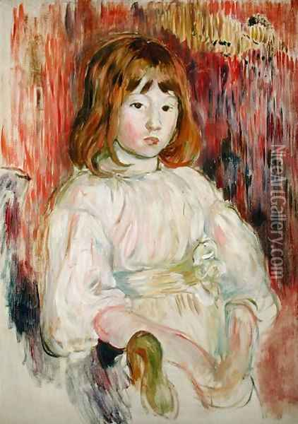 Portrait of Marcelle, 1895 Oil Painting - Berthe Morisot