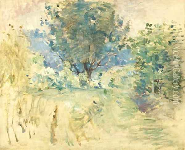 Paysage 2 Oil Painting - Berthe Morisot