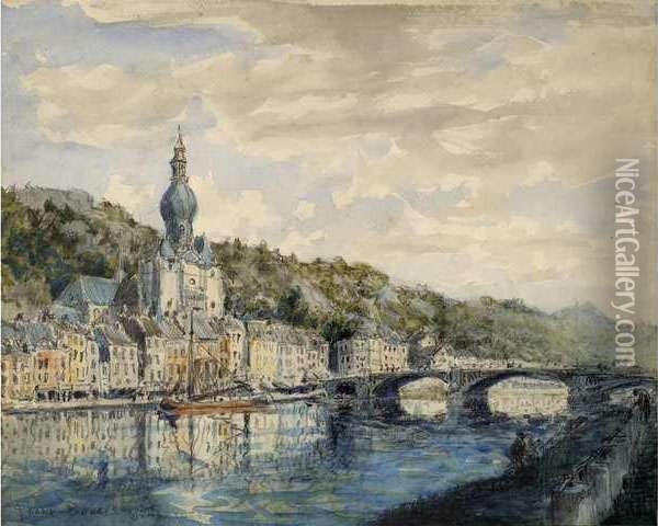 Dinan Oil Painting - Frank Myers Boggs