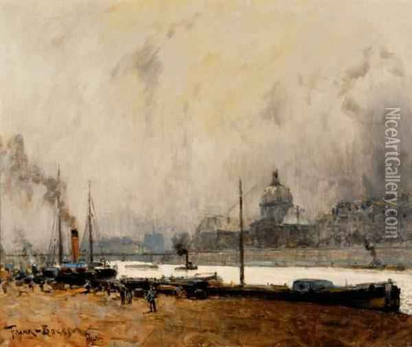 Paris, La Seine Oil Painting - Frank Myers Boggs
