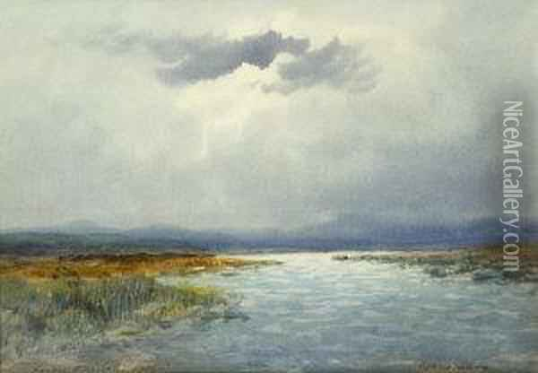 Connemara Oil Painting - William Percy French