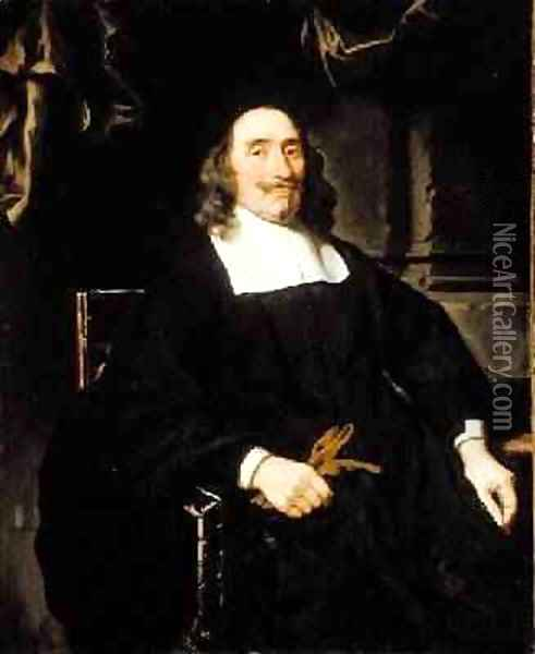 Portrait of a Gentleman 1671 Oil Painting - Nicolaes Maes