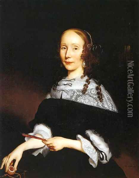 Portrait of a Woman 2 Oil Painting - Nicolaes Maes