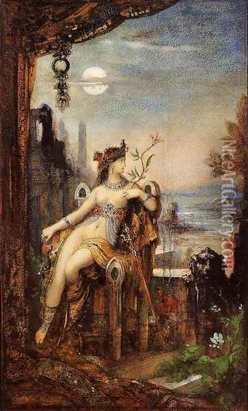 Cleopatra Oil Painting - Gustave Moreau