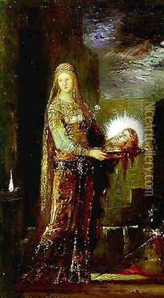 Salome IV Oil Painting - Gustave Moreau