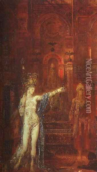 Salome III Oil Painting - Gustave Moreau