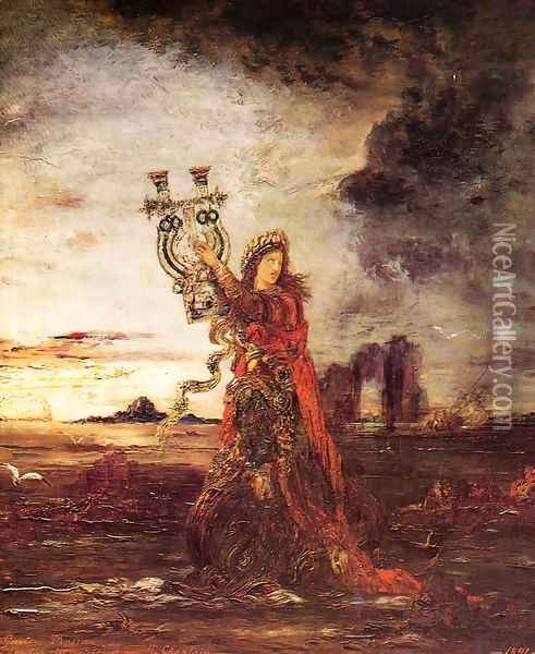 Arion Oil Painting - Gustave Moreau