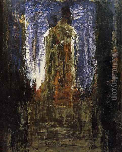 Abstract (study) Oil Painting - Gustave Moreau