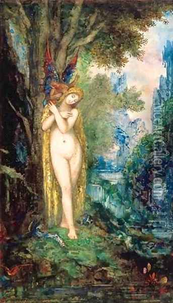 Eve I Oil Painting - Gustave Moreau