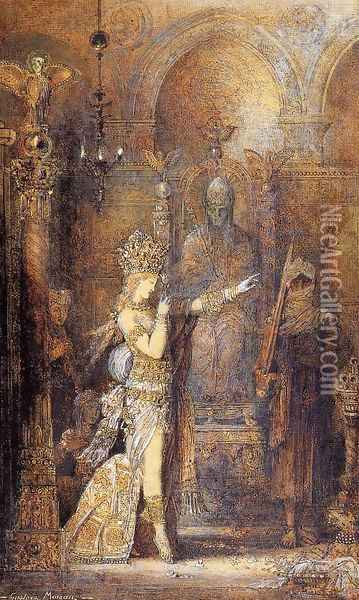 Salome Dancing Oil Painting - Gustave Moreau