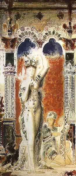 Salome II Oil Painting - Gustave Moreau