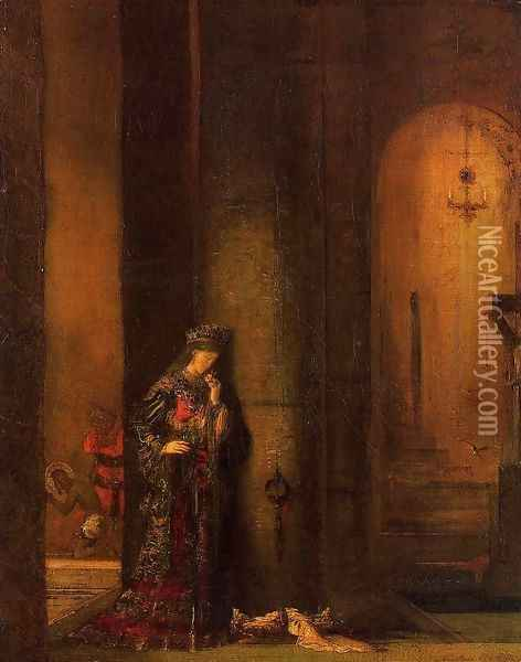 Salome in Prison Oil Painting - Gustave Moreau