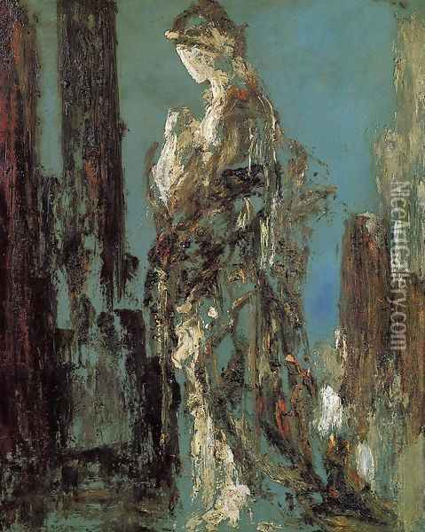 Study of Helen Oil Painting - Gustave Moreau