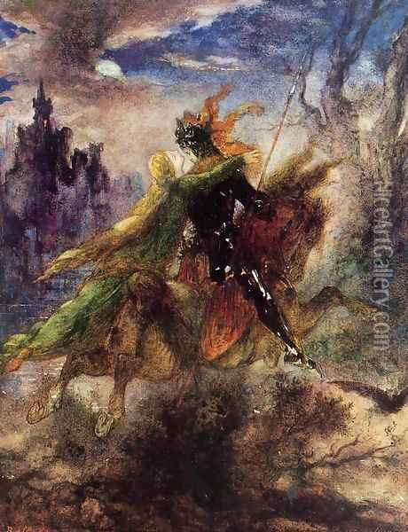 The Ballad Oil Painting - Gustave Moreau