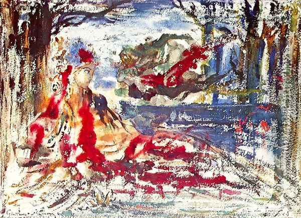 Near the Water Oil Painting - Gustave Moreau