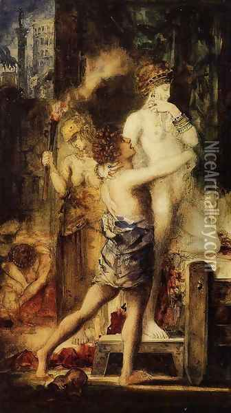 Messalina I Oil Painting - Gustave Moreau