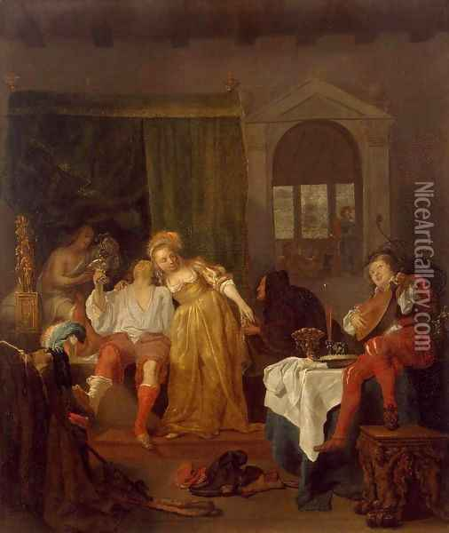 The Prodigal Son Oil Painting - Gabriel Metsu