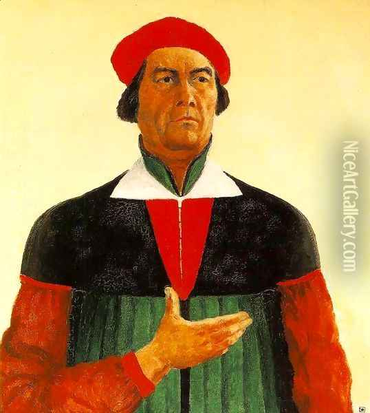 The Artist Oil Painting - Kazimir Severinovich Malevich
