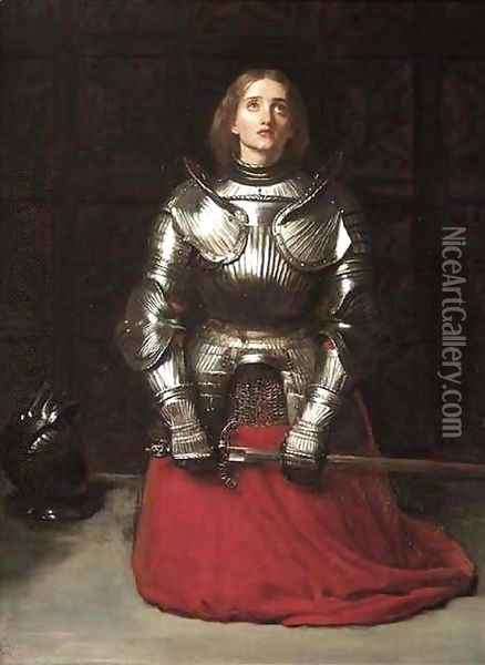 Joan of Arc Oil Painting - Sir John Everett Millais