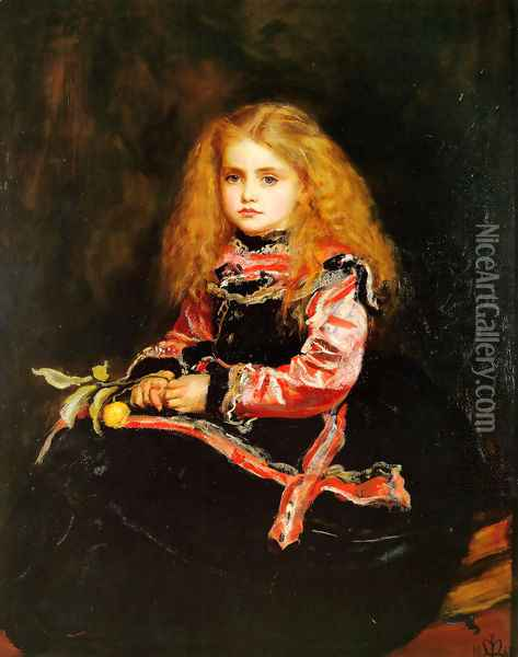 A Souvenir of Velazquez Oil Painting - Sir John Everett Millais