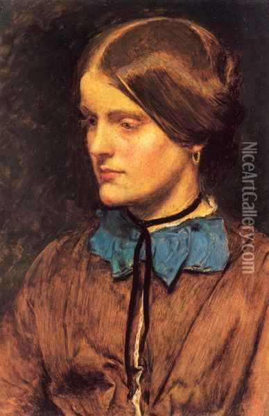 Annie Miller Oil Painting - Sir John Everett Millais