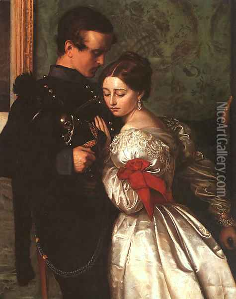 The Black Brunswicker 1860 Oil Painting - Sir John Everett Millais