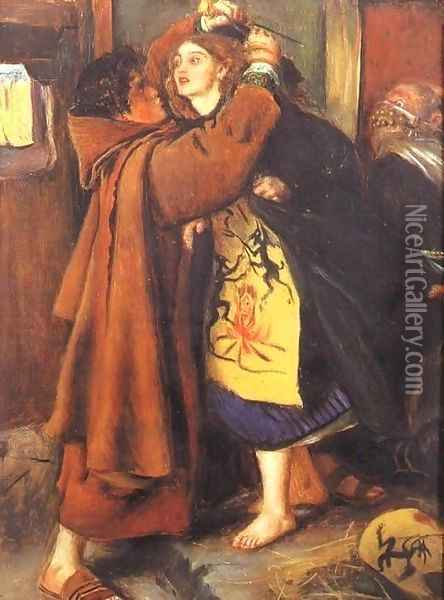 Escape of a Heretic, 1559 Oil Painting - Sir John Everett Millais