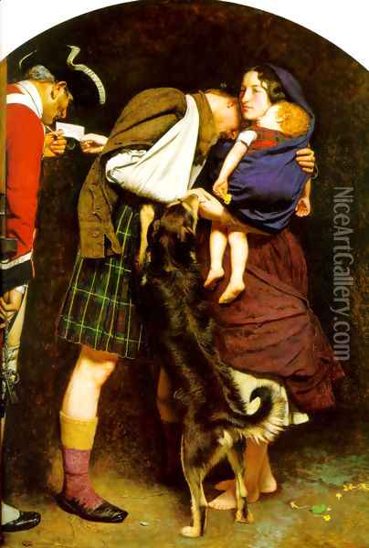 The Order of Release, 1746 Oil Painting - Sir John Everett Millais