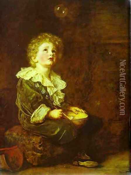 Bubbles 2 Oil Painting - Sir John Everett Millais
