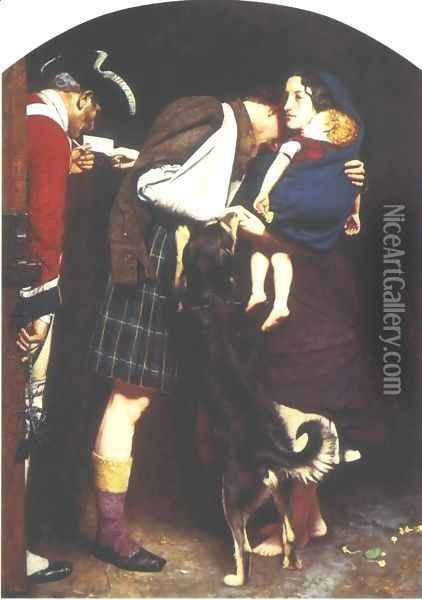 Order of Release 1746 Oil Painting - Sir John Everett Millais