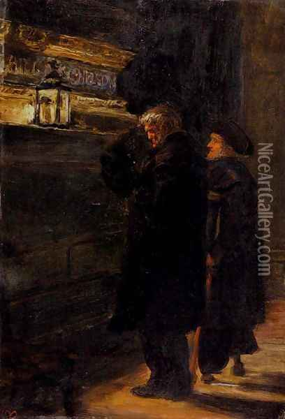 Greenwich Pensioners At The Tomb Of Nelson Oil Painting - Sir John Everett Millais