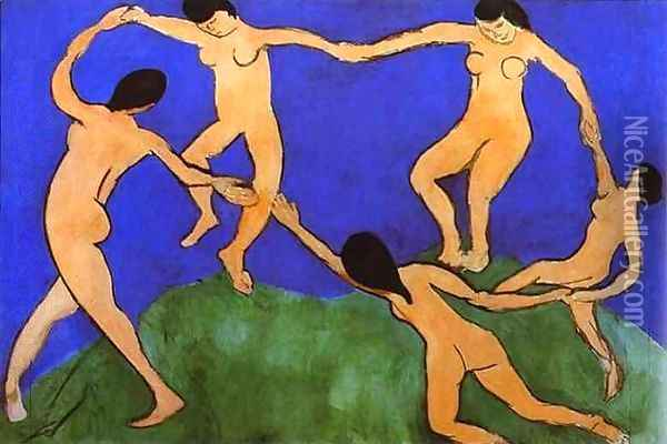 The Dance I Oil Painting - Henri Matisse
