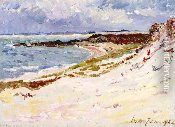 By the Sea I Oil Painting - Maxime Maufra