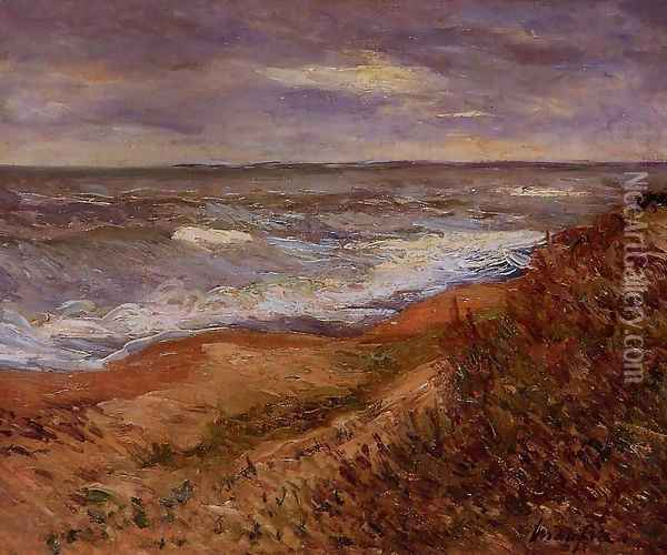 By the Sea Oil Painting - Maxime Maufra