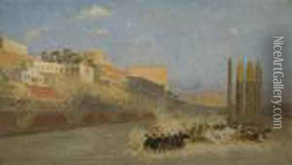 The Circus Maximus Oil Painting - Jean-Leon Gerome