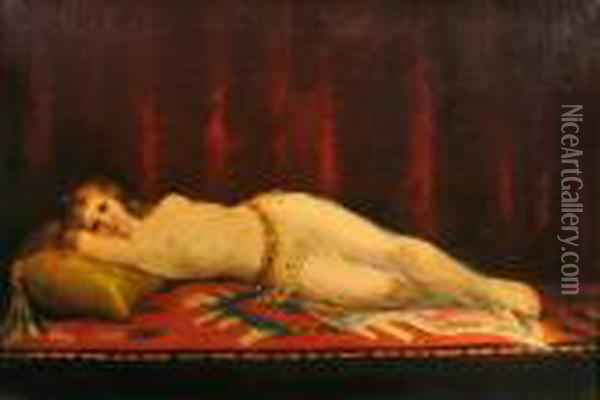 The Pride Of The Harem Oil Painting - Jean-Leon Gerome