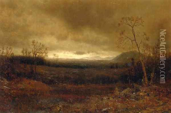 After the Storm Oil Painting - Jervis McEntee