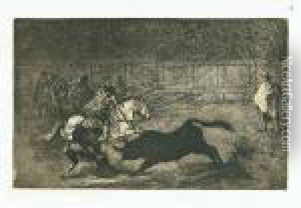 Tauromachie, Limited To 400 Copies Oil Painting - Francisco De Goya y Lucientes
