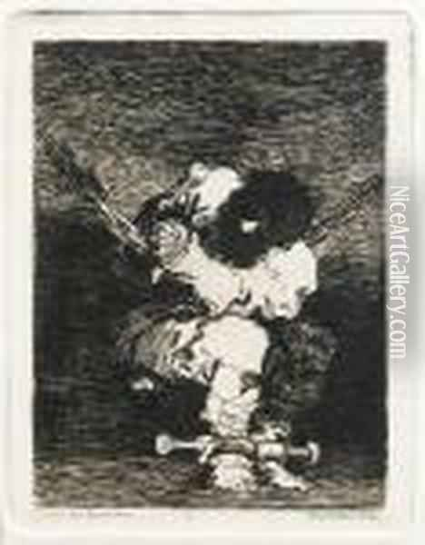 Little Prisoner (the Custody Is As Barbarous As The Crime) Oil Painting - Francisco De Goya y Lucientes