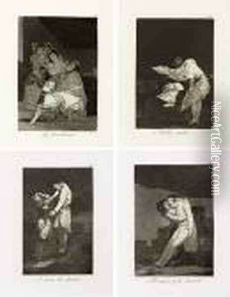 Los Caprichos Oil Painting - Francisco De Goya y Lucientes