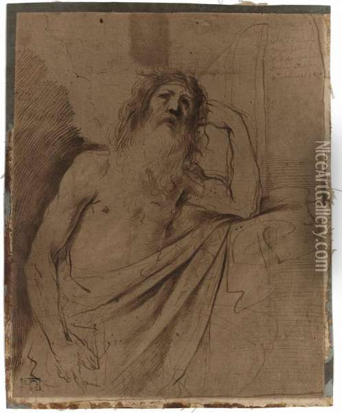 Saint Jerome Oil Painting - Guercino