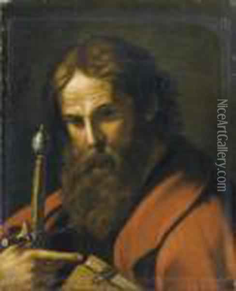 San Paolo Oil Painting - Guercino