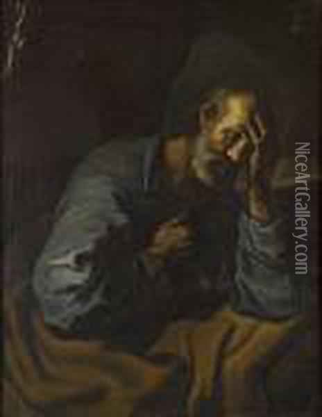 St. Jerome Oil Painting - Guercino