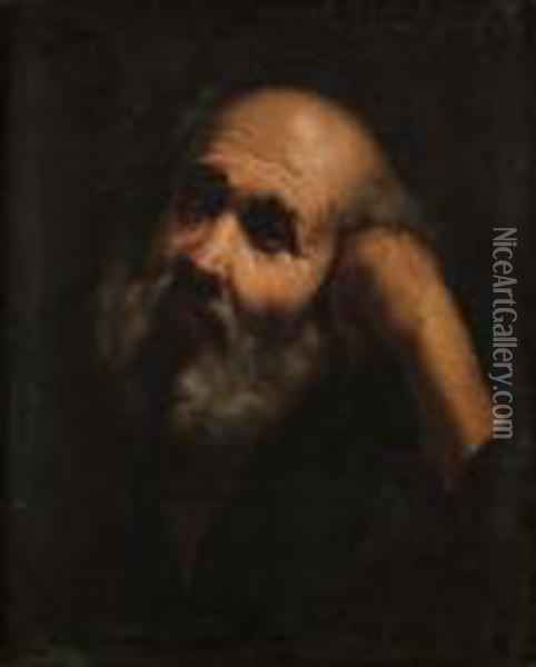Apostel Oil Painting - Guercino
